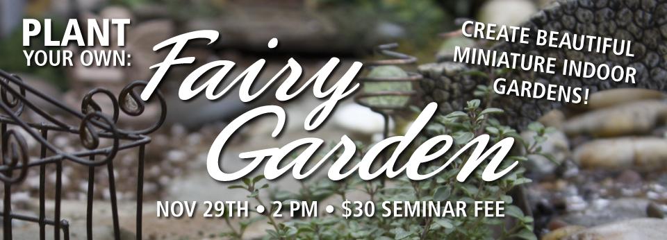 PYO Fairy Gardening QBY NOV