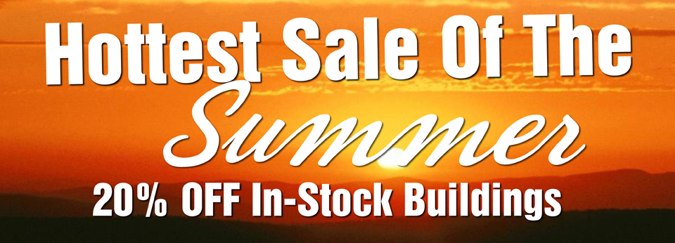 hottest sale of the summer banner