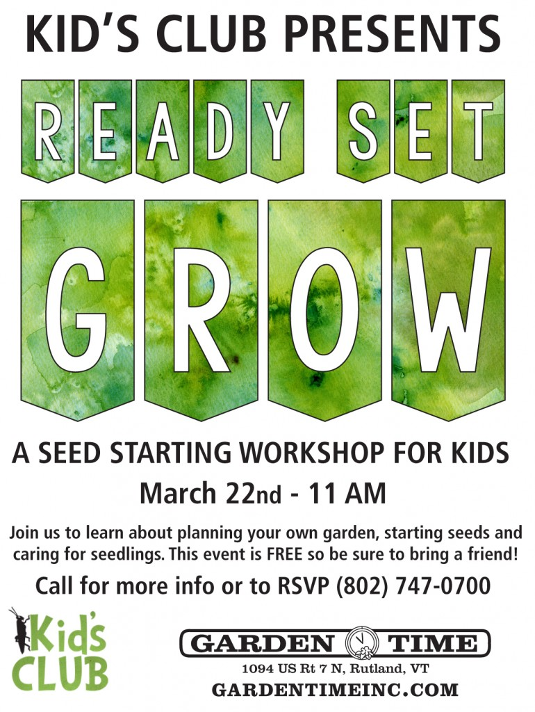 Ready Set Grow 2014 Poster