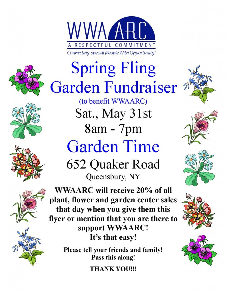 jpg Garden Time Garden Fundraiser 2014