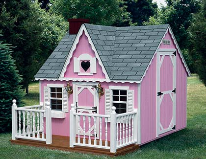 Playhouses from Garden Time Sheds in Saratoga, Queensbury & Clifton Park NY & Rutland VT