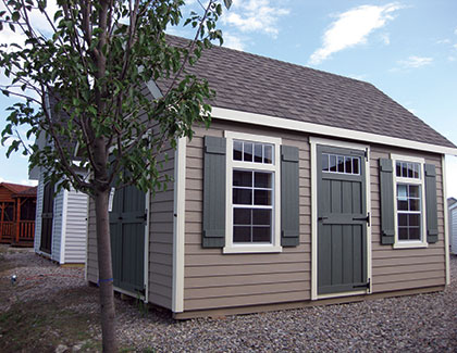 Select Series Manor Outdoor Sheds from Garden Time Sheds in Saratoga, Queensbury & Clifton Park NY & Rutland VT