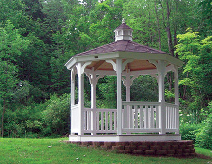 Gazebos from Garden Time Sheds in Saratoga, Queensbury & Clifton Park NY & Rutland VT