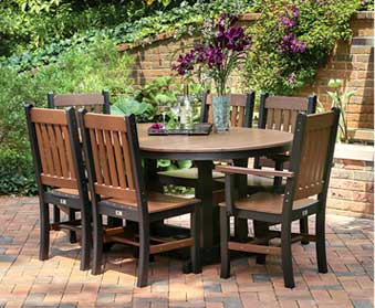 Outdoor Patio Furniture from Garden Time Sheds in Saratoga, Queensbury & Clifton Park NY & Rutland VT