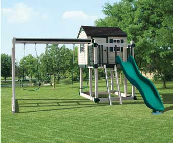 Outdoor Children's Play Sets from Garden Time Sheds in Saratoga, Queensbury & Clifton Park NY & Rutland VT