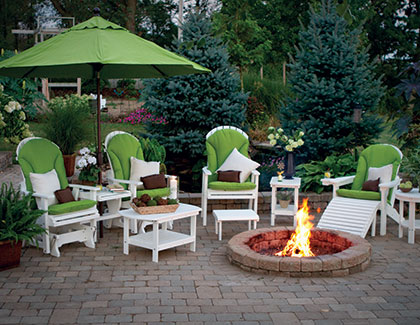 Outdoor Poly Furniture From Garden Time Sheds In Saratoga, Queensbury U0026  Clifton Park NY U0026