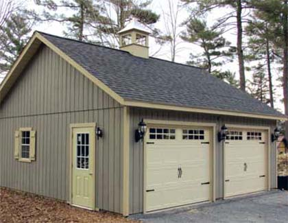 Select Series Garages from Garden Time Sheds in Saratoga, Queensbury & Clifton Park NY & Rutland VT