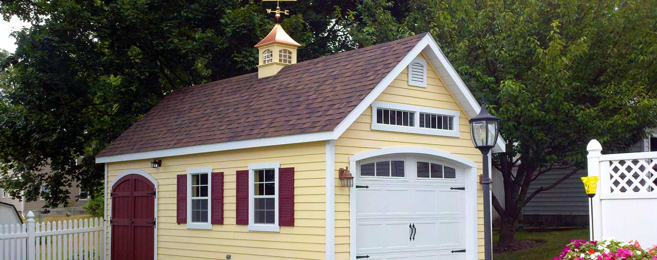 Sheds from Garden Time Sheds in Saratoga, Queensbury & Clifton Park NY & Rutland VT