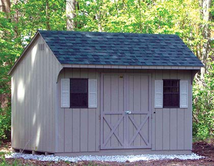 Standard Series Outdoor Sheds from Garden Time Sheds in Saratoga, Queensbury & Clifton Park NY & Rutland VT