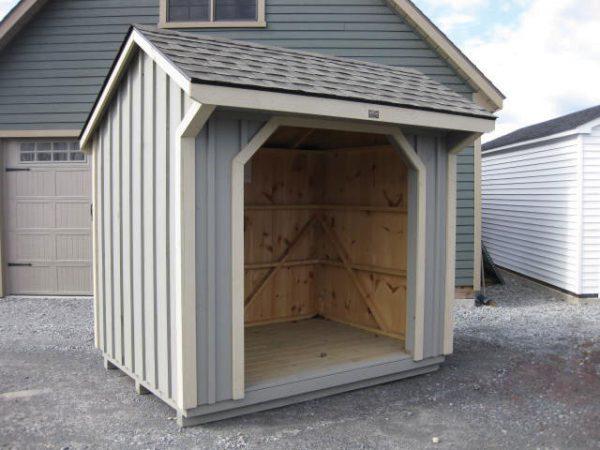 "Custom Hamilton Wood Shed 10x16"""