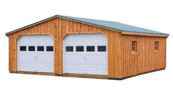 24'x24' - Board and Batten 2-Car Garage