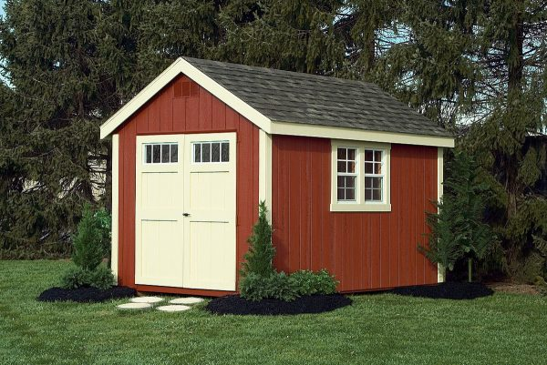 Cape Cod Red storage shed