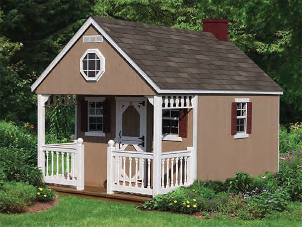Cabin 8'x12' Playhouse