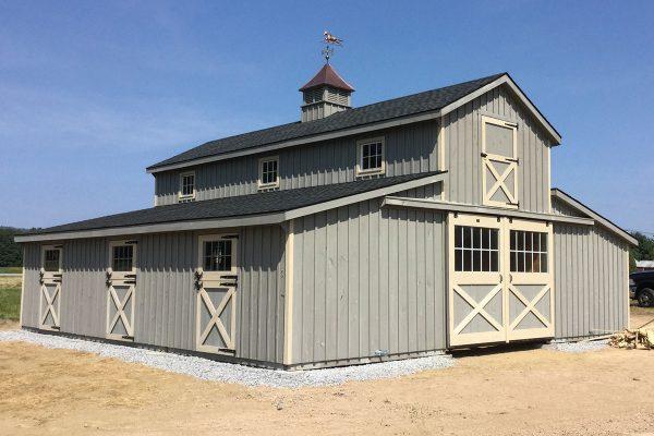 Board and Batten Horse Barn