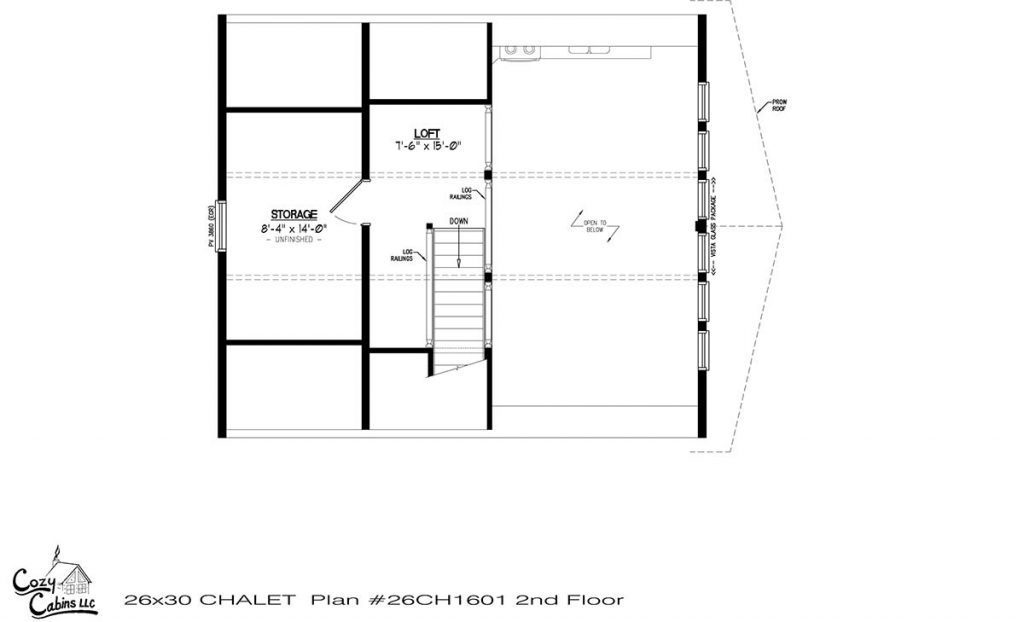 Chalet 26CH1601 Floor 2