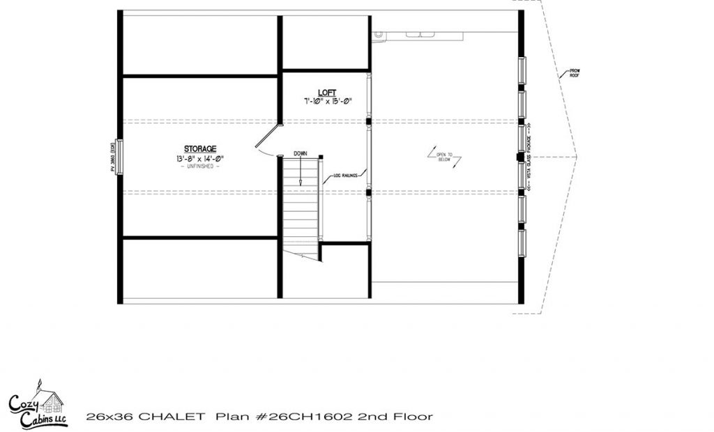 Chalet 26CH1602 second floor