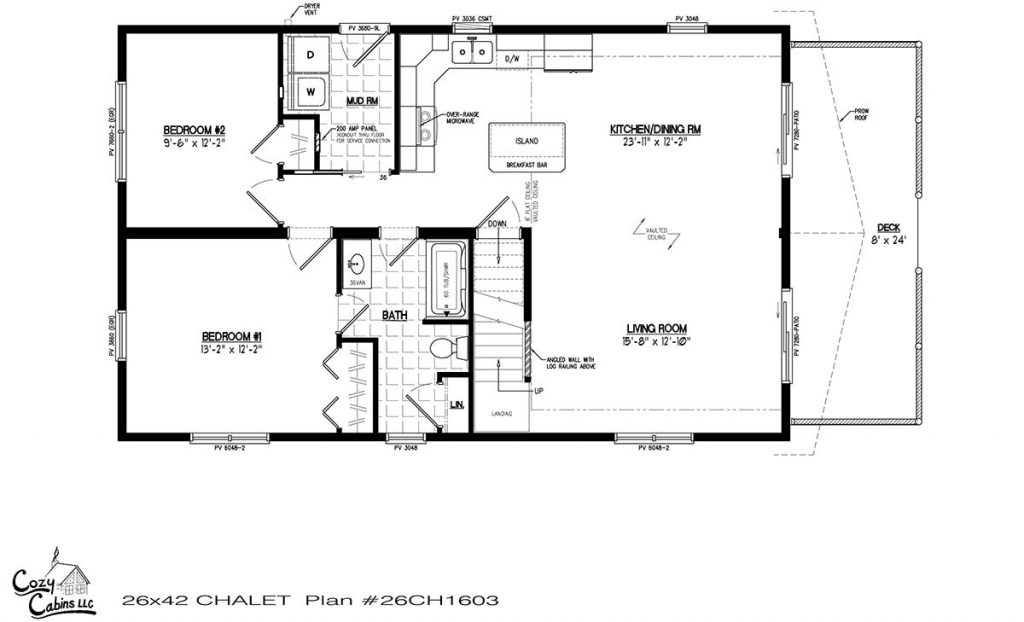 Chalet 26CH1603 first floor