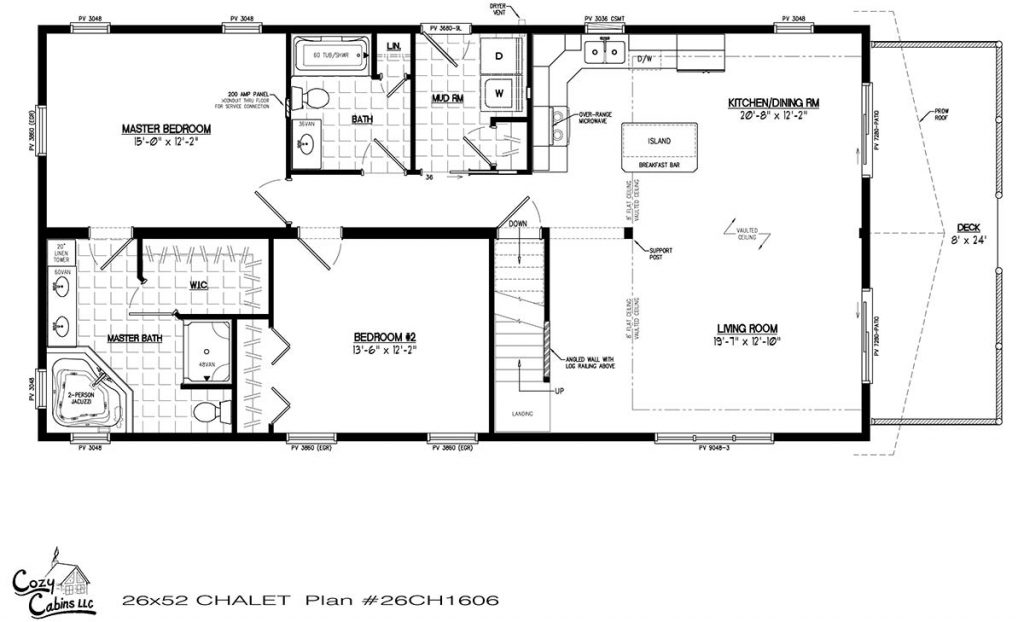 Chalet 26CH1606 First floor