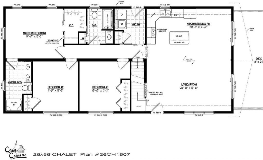 Chalet 26CH1607 First floor