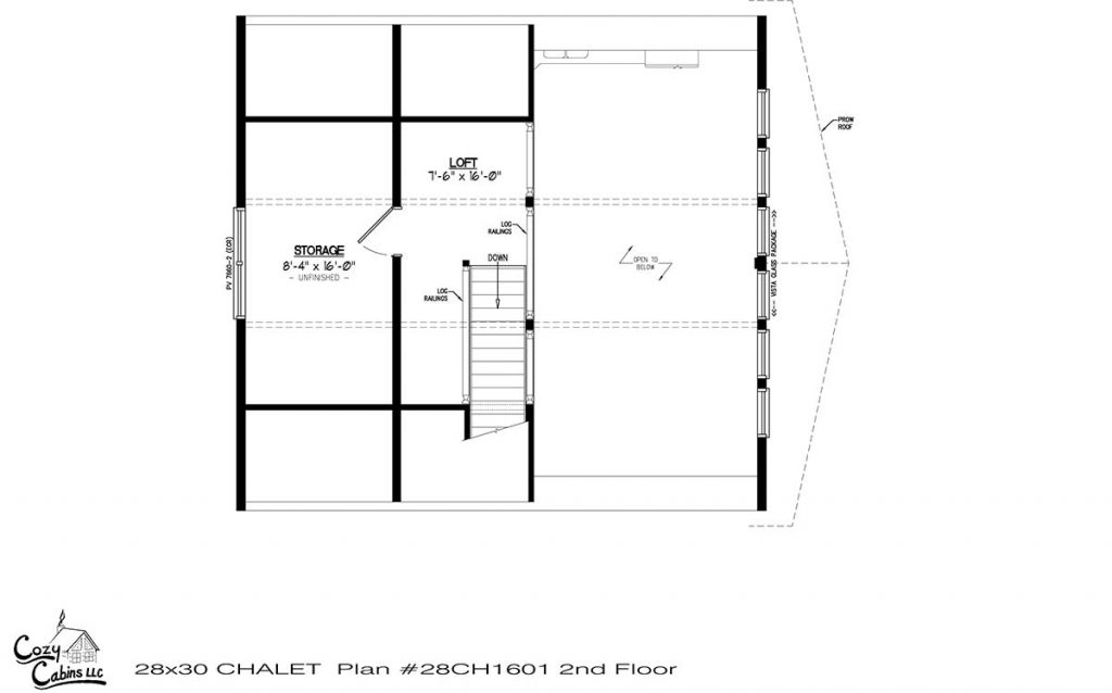 Chalet 28CH1601 Second floor