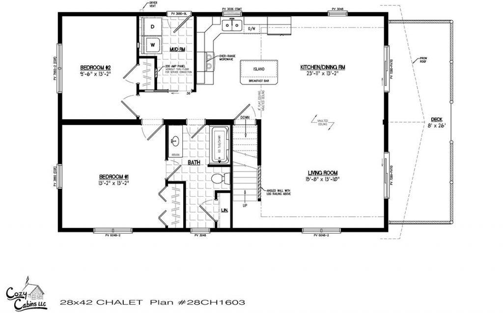 Chalet 28CH1603 First floor