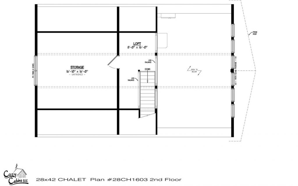 Chalet 28CH1603 Second floor