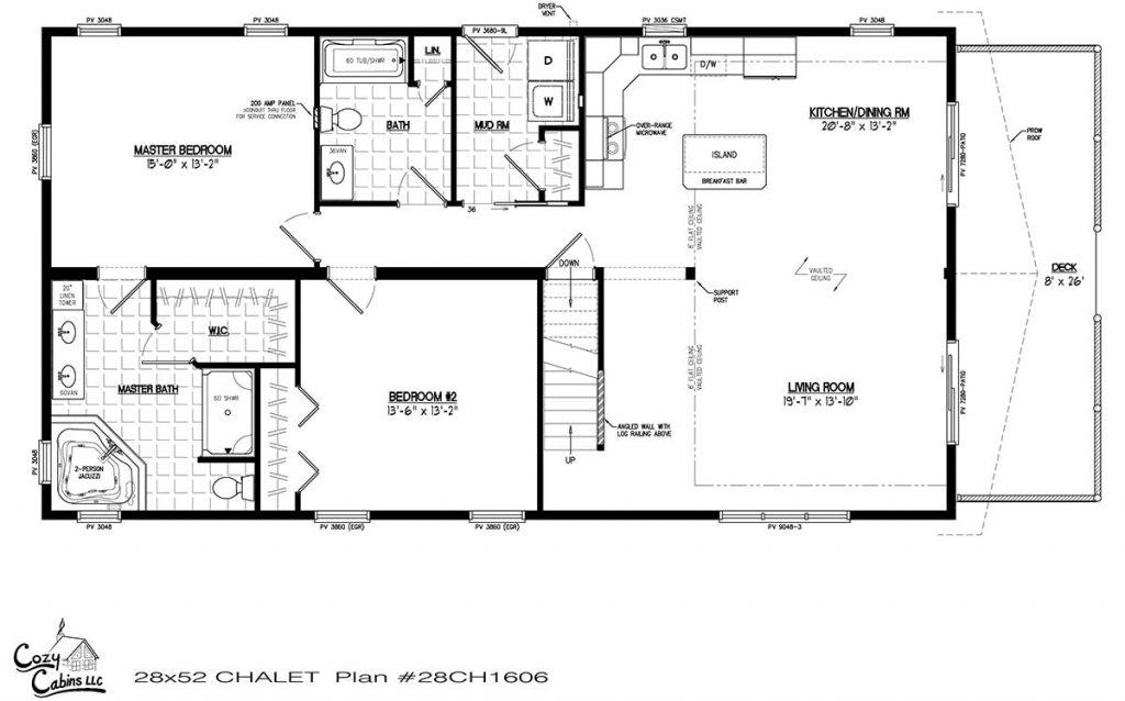 Chalet 28CH1606 First floor