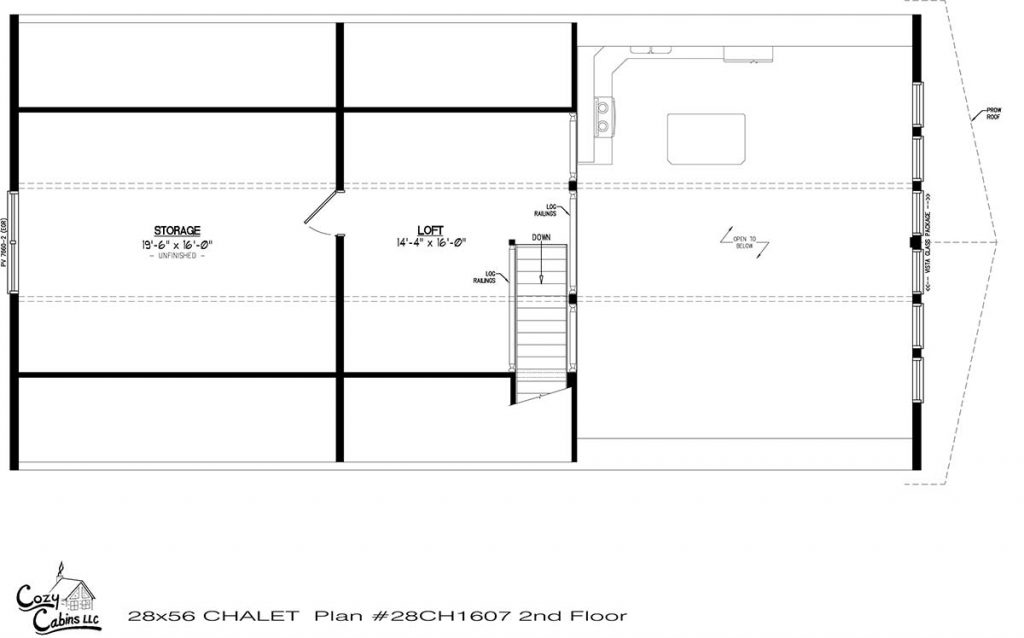 Chalet 28CH1607 second floor