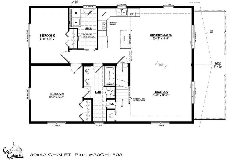 Chalet 30CH1603 First floor