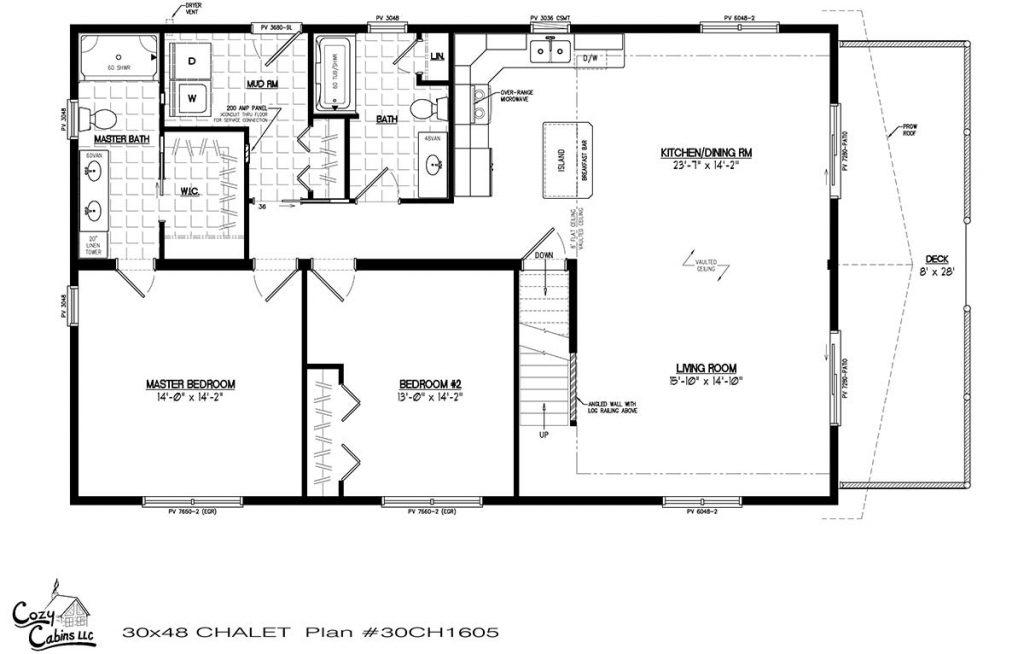 Chalet 30CH1605 First floor