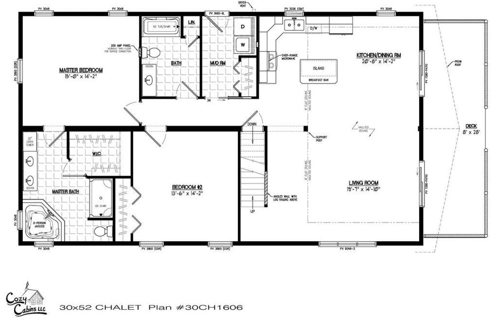 Chalet 30CH1606 First floor