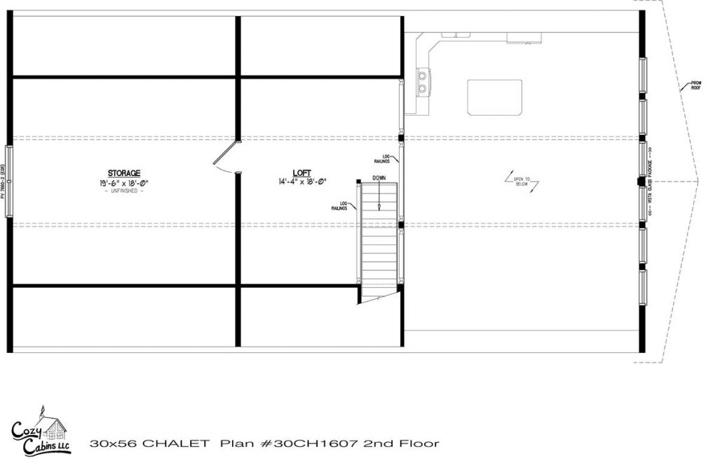 Chalet 30CH1607 Second floor