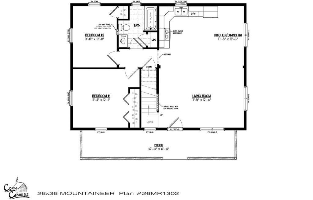 Mountaineer 26MR1302 first floor