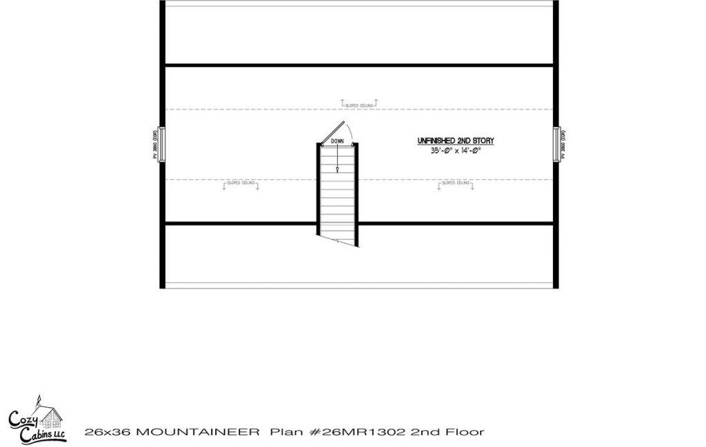 Mountaineer 26MR1302 second floor