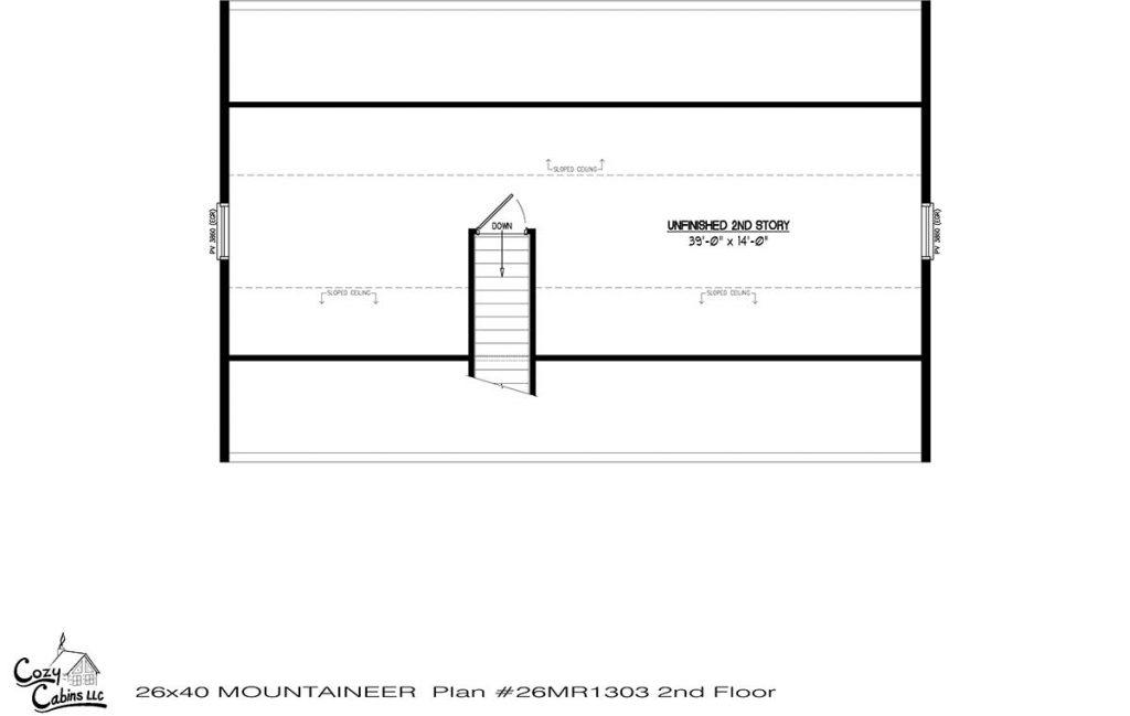Mountaineer 26MR1303 second floor