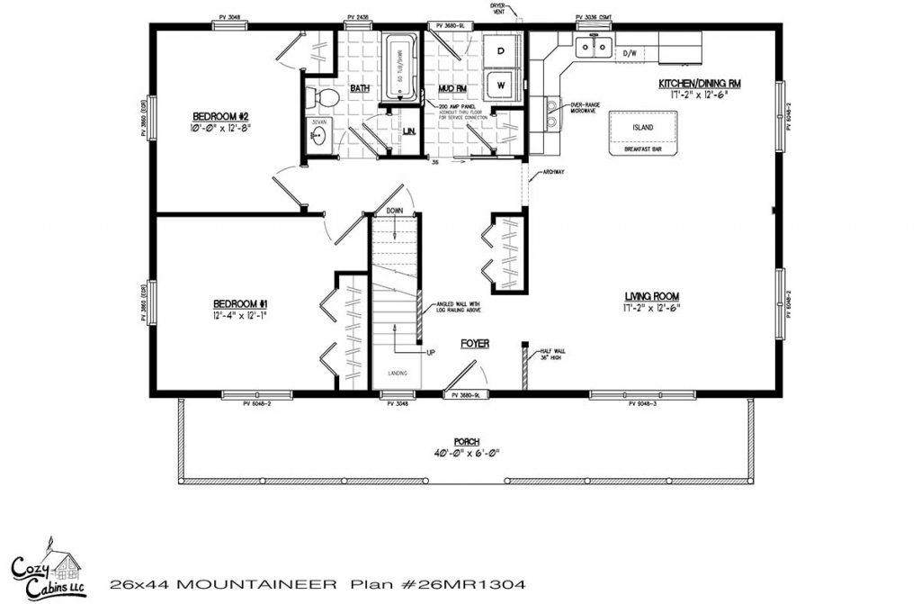 Mountaineer 26MR1304 first floor