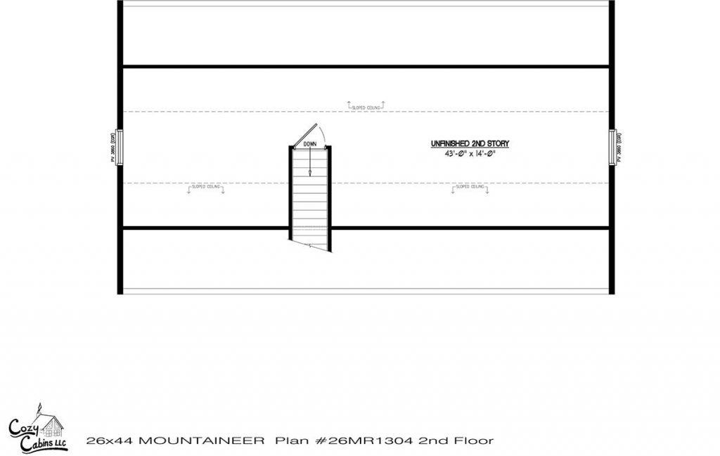 Mountaineer 26MR1304 second floor