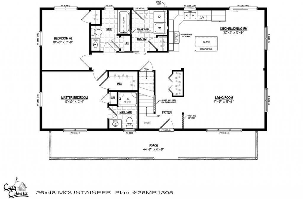 Mountaineer 26MR1305 first floor