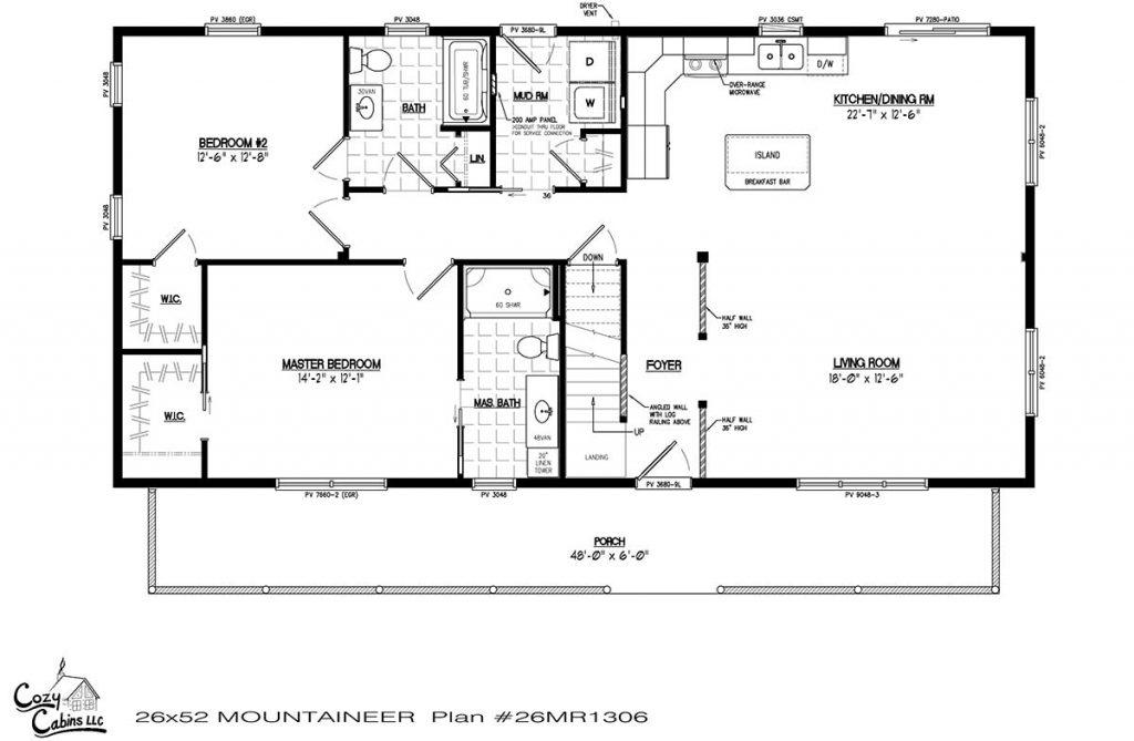 Mountaineer 26MR1306 first floor
