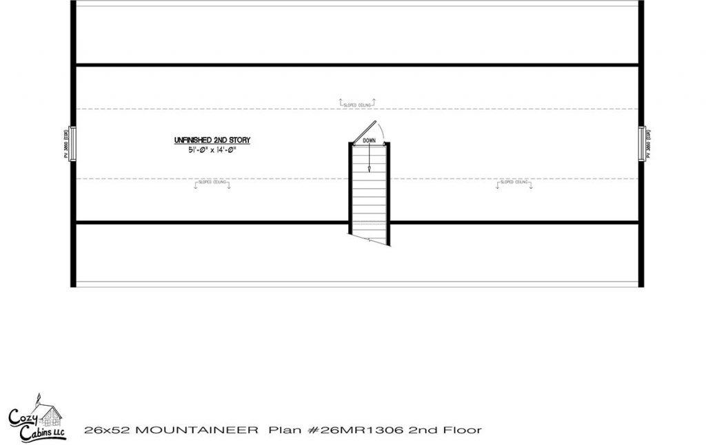 Mountaineer 26MR1306 second floor