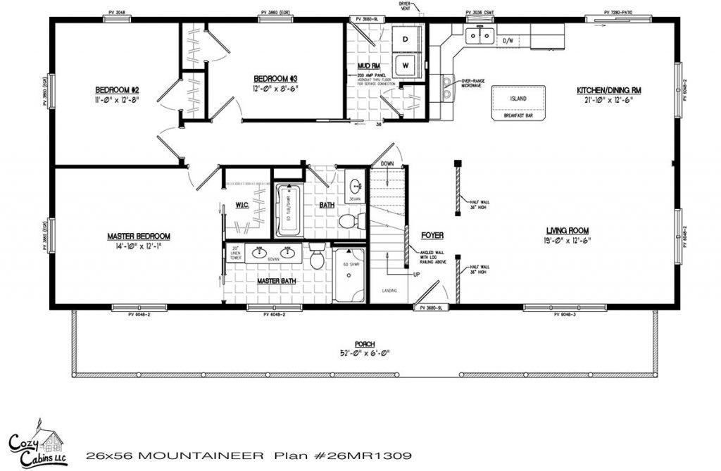 Mountaineer 26MR1309 first floor
