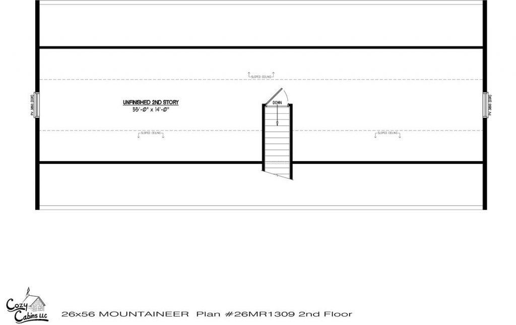 Mountaineer 26MR1309 second floor