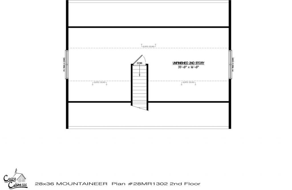 Mountaineer 28MR1302 second floor
