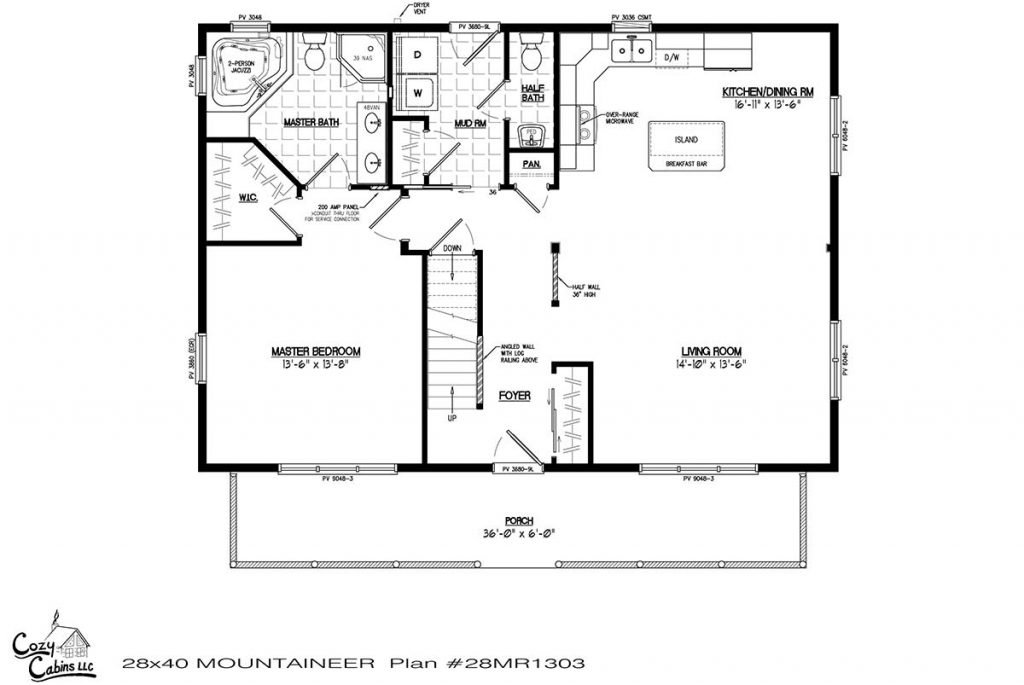 Mountaineer 28MR1303 first floor