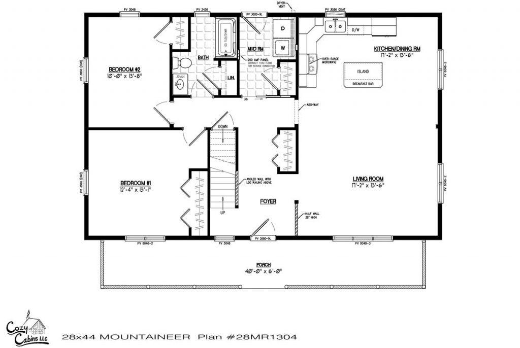 Mountaineer 28MR1304 first floor