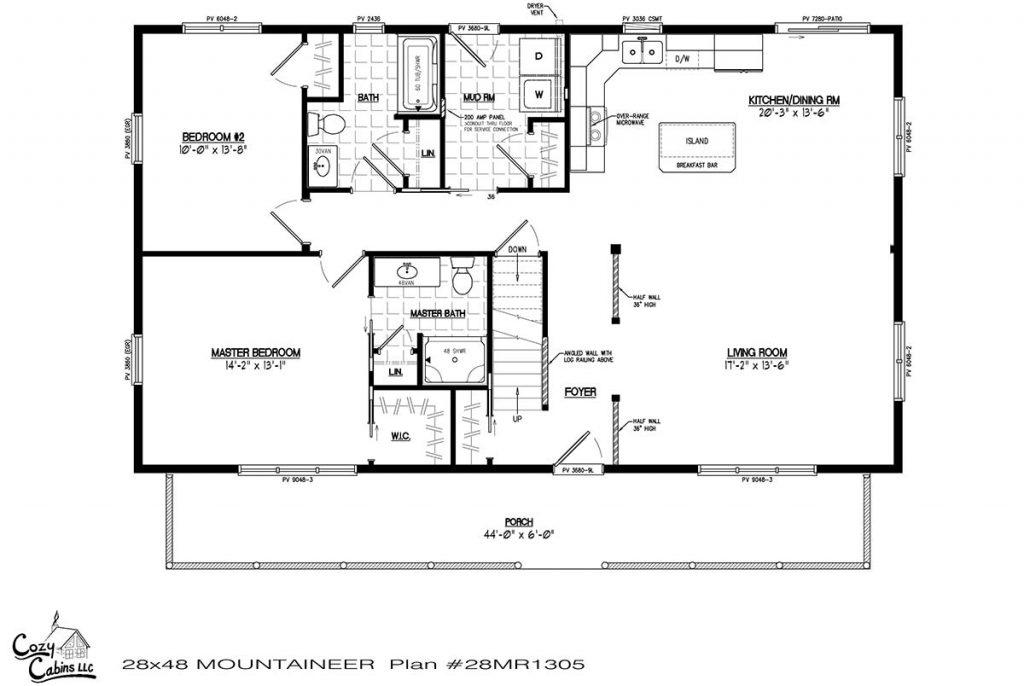 Mountaineer 28MR1305 first floor