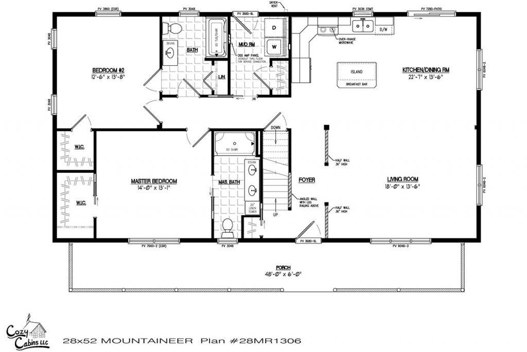 Mountaineer 28MR1306 first floor