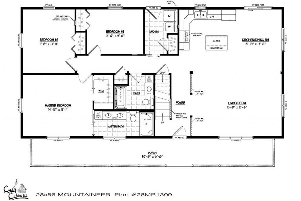 Mountaineer 28MR1309 first floor