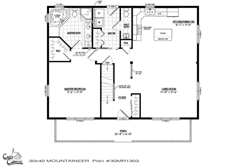 Mountaineer 30MR1303 first floor