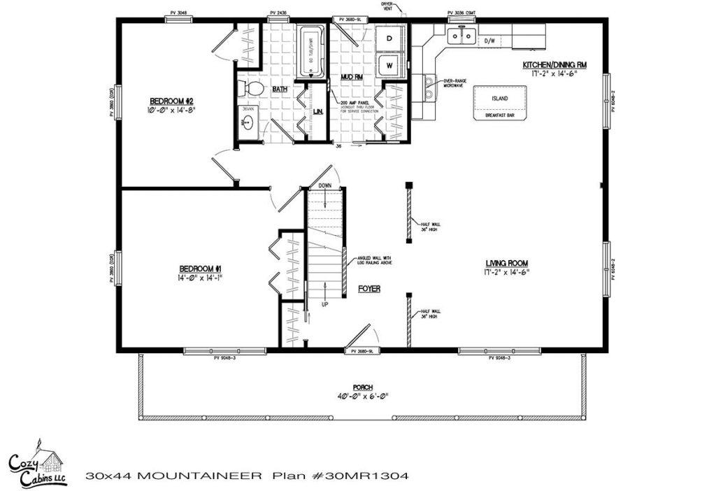 Mountaineer 30MR1304 first floor